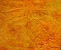 σύσταση εγγράφου κίτρινη Στοκ φωτογραφία με δικαίωμα ελεύθερης χρήσης