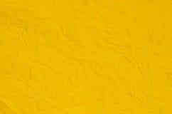 σύσταση εγγράφου κίτρινη Στοκ Εικόνες