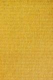 σύσταση εγγράφου κίτρινη Στοκ φωτογραφίες με δικαίωμα ελεύθερης χρήσης