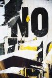 Σύσταση εγγράφου κολάζ υποβάθρου στον τοίχο χωρίς τη λέξη Στοκ εικόνα με δικαίωμα ελεύθερης χρήσης