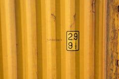 Σύσταση εμπορευματοκιβωτίων σκουριάς Στοκ εικόνες με δικαίωμα ελεύθερης χρήσης