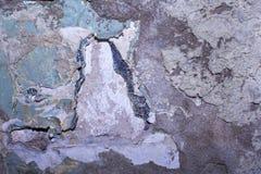 Σύσταση ενός παλαιού γρατσουνισμένου shabby τοίχου Στοκ Εικόνες
