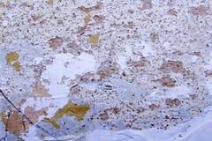 Σύσταση ενός παλαιού γρατσουνισμένου shabby τοίχου Στοκ Φωτογραφίες