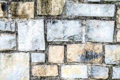 Σύσταση ενός τοίχου πετρών Στοκ εικόνα με δικαίωμα ελεύθερης χρήσης