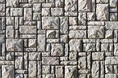 Σύσταση ενός τοίχου που χτίζεται των πετρών γρανίτη στοκ φωτογραφίες