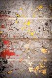 Σύσταση ενός φύλλου σιδήρου με ένα παλαιό ραγισμένο χρώμα Στοκ εικόνες με δικαίωμα ελεύθερης χρήσης