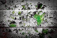 Σύσταση ενός φύλλου σιδήρου με ένα παλαιό ραγισμένο χρώμα Στοκ εικόνα με δικαίωμα ελεύθερης χρήσης
