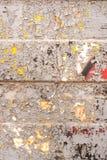 Σύσταση ενός φύλλου σιδήρου με ένα παλαιό ραγισμένο χρώμα Στοκ Εικόνες