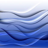 Σύσταση επίδρασης νερού Στοκ Εικόνα