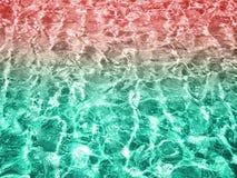 Σύσταση επιφάνειας νερού Στοκ Εικόνα