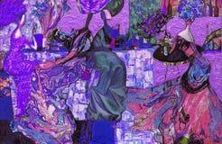 σύσταση ελαιογραφίας συντάκτης ρωμαϊκό Nogin συζήτηση γυναικών ` s σειράς ` ` η έκδοση συντακτών ` s του χρώματος Στοκ φωτογραφίες με δικαίωμα ελεύθερης χρήσης