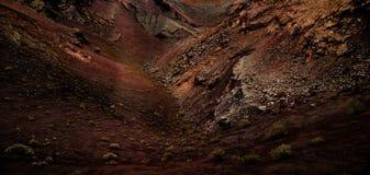 Σύσταση ηφαιστείων από Lanzaote Υπόβαθρο στοκ φωτογραφία
