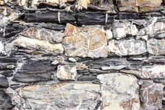 Σύσταση και υπόβαθρο πετρών στενή σύσταση βράχου επάνω Στοκ Φωτογραφίες