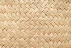 Σύσταση καλαθιών μπαμπού για τη χρήση ως υπόβαθρο Υφαμένες σχέδιο και σύσταση καλαθιών στοκ φωτογραφία