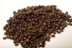 σύσταση καφέ φασολιών ανασκόπησης Στοκ Εικόνα