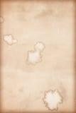 Σύσταση καφετιού εγγράφου για το έργο τέχνης/παλαιά σύσταση εγγράφου Στοκ Εικόνα