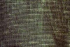 Σύσταση κινηματογραφήσεων σε πρώτο πλάνο σφενδάμνου φθινοπώρου, υπόβαθρο λινού, επίπεδο επιφάνειας λιναριού, swatch υφάσματος Στοκ Φωτογραφίες