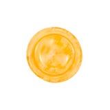 Σύσταση κουμπιών κίτρινη Στοκ φωτογραφία με δικαίωμα ελεύθερης χρήσης