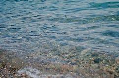Σύσταση κυμάτων θάλασσας Στοκ Εικόνα