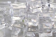 Σύσταση κύβων πάγου Στοκ εικόνες με δικαίωμα ελεύθερης χρήσης