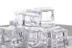 Σύσταση κύβων πάγου Στοκ Εικόνες