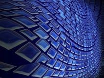 Σύσταση κύκλων δικτύων υποβάθρου περιλήψεων Στοκ Φωτογραφία