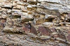 Σύσταση με έναν ψαμμίτη πετρών Στοκ Εικόνα