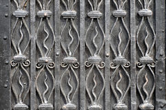 Σύσταση με τα διακοσμητικά στοιχεία σιδήρου Στοκ φωτογραφίες με δικαίωμα ελεύθερης χρήσης