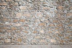 Σύσταση μιας τραχιάς επικεράμωσης τοίχων και πατωμάτων πετρών στοκ εικόνες