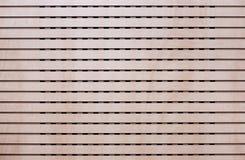 Σύσταση ξύλινα slats στην οριζόντια διαταγή Στοκ φωτογραφία με δικαίωμα ελεύθερης χρήσης