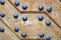 Σύσταση 6577 - ξύλο με τα καρφιά χάλυβα Στοκ Εικόνες