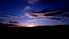 σύσταση ουρανού ουρανών βραδιού Στοκ εικόνες με δικαίωμα ελεύθερης χρήσης