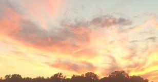 σύσταση ουρανού ουρανών βραδιού Στοκ Εικόνες