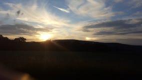 σύσταση ουρανού ουρανών βραδιού Στοκ Φωτογραφία