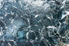 Σύσταση πάγου στο παγόβουνο Στοκ φωτογραφίες με δικαίωμα ελεύθερης χρήσης