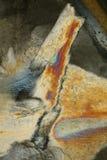 σύσταση πάγου χρώματος Στοκ εικόνες με δικαίωμα ελεύθερης χρήσης