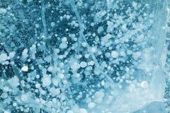 Σύσταση πάγου Στοκ Φωτογραφίες