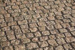 Σύσταση πεζοδρομίων Cobbled Στοκ φωτογραφίες με δικαίωμα ελεύθερης χρήσης