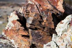 Σύσταση πετρών και στενός επάνω υποβάθρου Σύσταση βράχου Στοκ φωτογραφία με δικαίωμα ελεύθερης χρήσης
