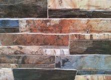 Σύσταση πετρών τούβλου Στοκ Εικόνες