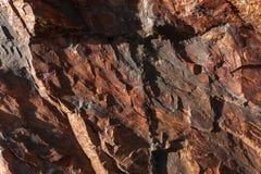 σύσταση πετρών Στοκ Φωτογραφία