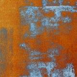 Σύσταση πορτοκαλιών και μπλε τυπωμένων υλών Στοκ φωτογραφία με δικαίωμα ελεύθερης χρήσης