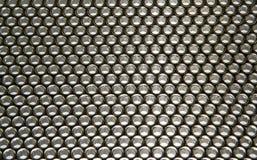 Σύσταση που γίνεται από τα ανοξείδωτα κάγκελα Στοκ φωτογραφία με δικαίωμα ελεύθερης χρήσης