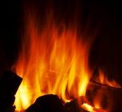 σύσταση πυρκαγιάς Στοκ εικόνες με δικαίωμα ελεύθερης χρήσης