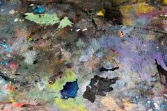 Σύσταση σημαδιών χρωμάτων τέχνης Στοκ Εικόνα