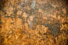 Σύσταση σκουριάς οξυδωμένη στη μέταλλο επιφάνεια Στοκ φωτογραφίες με δικαίωμα ελεύθερης χρήσης