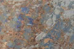 Σύσταση σκουριάς ως παλαιό υπόβαθρο πιάτων σιδήρου σκουριάς μετάλλων Στοκ εικόνες με δικαίωμα ελεύθερης χρήσης