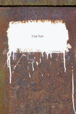 σύσταση σκουριάς Στοκ φωτογραφία με δικαίωμα ελεύθερης χρήσης
