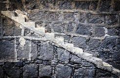 Σύσταση στον τοίχο της πέτρας Στοκ εικόνα με δικαίωμα ελεύθερης χρήσης
