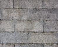 Σύσταση συμπαγών τοίχων φραγμών της Cinder/φραγμών αερακιού στοκ φωτογραφία